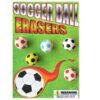 Soccer Ball Erasers Cardinal Test