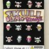 skull bling rings